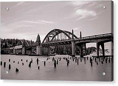 Siuslaw River Bridge Acrylic Print by HW Kateley