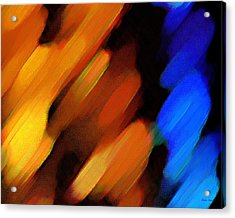 Acrylic Print featuring the painting Sivilia 3 Abstract by Donna Corless