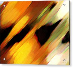 Acrylic Print featuring the painting Sivilia 8 Abstract by Donna Corless