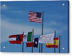 Six Flags Over Texas Acrylic Print