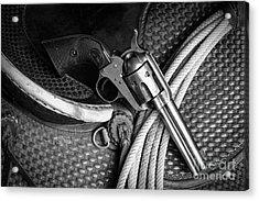 Six Gun Acrylic Print