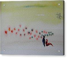 Six Seasons Dance Four Acrylic Print