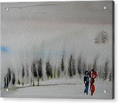 Six Seasons Dance Three Acrylic Print