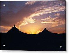 Six Shooter Peaks Acrylic Print
