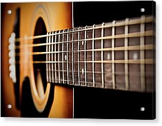 Six String Guitar Acrylic Print