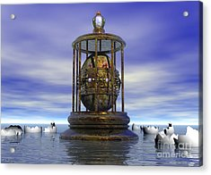 Sixth Sense - Surrealism Acrylic Print by Sipo Liimatainen