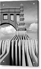 Sixth Street Perspective Pittsburgh Pa Acrylic Print by Kristen Vota