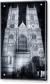 Westminster Abbey Night Acrylic Print