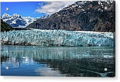 Size Perspective No Margerie Glacier Acrylic Print