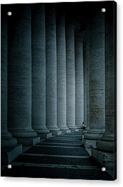 Size Proportions Acrylic Print by Mirek