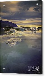 Skaftafellsjokull Lagoon Acrylic Print
