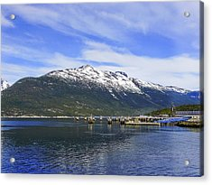 Skagway Mountain Acrylic Print by Robert OP Parrish