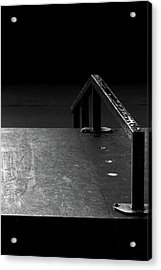 Acrylic Print featuring the photograph Skateboard Ramp II by Richard Rizzo