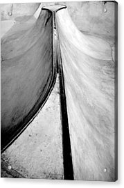 Skateboarding Acrylic Print by Kenneth Carpenter