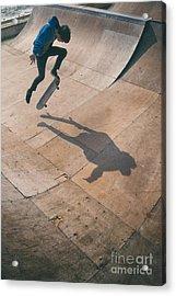 Skater Boy 001 Acrylic Print