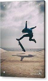 Skater Boy 003 Acrylic Print