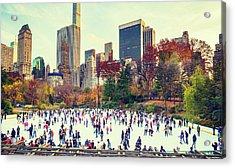 New York Central Park Acrylic Print