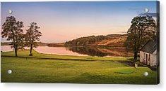 Skeabost House Hotel Golf Course Acrylic Print