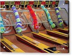 Skee Ball Lanes Acrylic Print