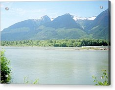 Skeena River British Columbia Acrylic Print by Michael Mccormack