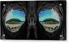 Acrylic Print featuring the photograph Skeleton Lake by Rand