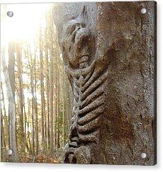 Skeleton Tree Acrylic Print