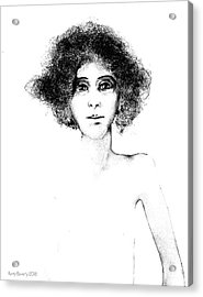 Sketch 108 Acrylic Print