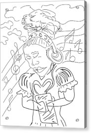 Sketch A9 Acrylic Print