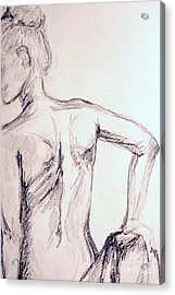 Sketch Class 2 Acrylic Print by Julie Lueders
