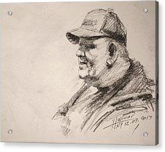 Sketch Man 15 Acrylic Print