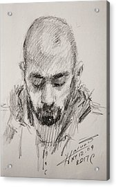 Sketch Man 16 Acrylic Print