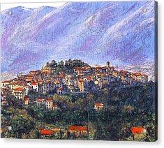 Sketch Of Potenza Acrylic Print