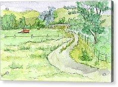 Sketchbook 037 Acrylic Print