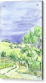 Sketchbook 038 Acrylic Print