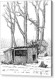 Sketchbook 063 Acrylic Print