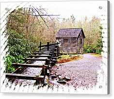 Sketchy Mingus Mill 2 Acrylic Print by Marty Koch