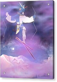Ski Kachina Bowl Taos New Mexico Acrylic Print