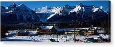 Ski Resort Banff National Park Alberta Acrylic Print by Panoramic Images