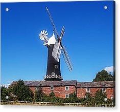 Skidby Mill East Yorkshire England Acrylic Print