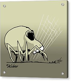 Skider Acrylic Print