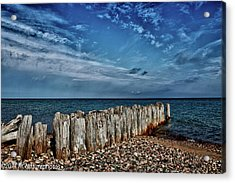 Acrylic Print featuring the photograph Skies Of Superior by Rachel Cohen