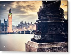 Skies Over London Acrylic Print