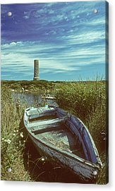 Skiff At Westend Pond Acrylic Print