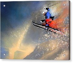 Skijumping 03 Acrylic Print