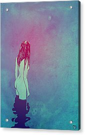 Skinny Dipping Acrylic Print