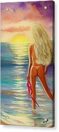 Skinny Dipping Acrylic Print