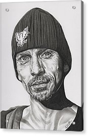 Skinny Pete  Breaking Bad Acrylic Print by Fred Larucci