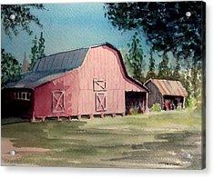 Skip Kelly's Barn Acrylic Print