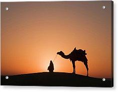 Skn 0893 Halo Of Sunrise Acrylic Print