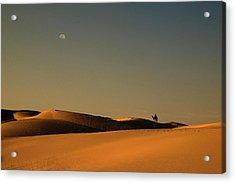 Skn 1117 Camel Ride At 6 Acrylic Print